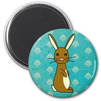 Bunbun - Cute Rabbit 6 Cm Round Magnet