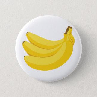 Bunch of Bananas 6 Cm Round Badge