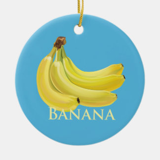 Bunch of Bananas Christmas Ornament