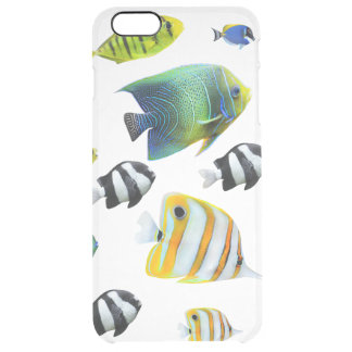 Bunch of Fish Clear iPhone 6 Plus Case