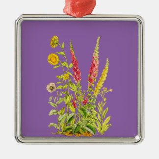 Bunch of flowers christmas ornament