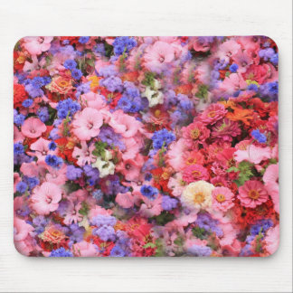 Bunch Of Flowers Mouse Pad