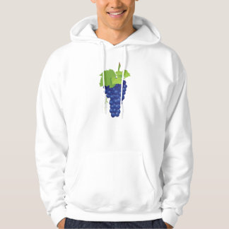 Bunch of Grapes Mens Hoodie