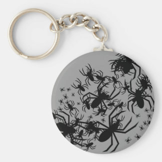 Bunch Of Spiders Key Ring