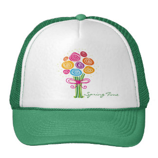 Bunch of Spring Flowers hat