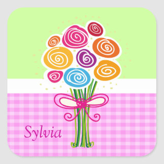 Bunch of Spring Flowers sticker