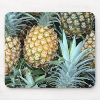 Bunch of Tropical Hawaiian Pineapples Mouse Mat