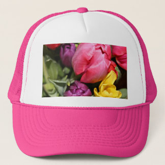 Bunch of Tulips Bouquet Trucker Hat