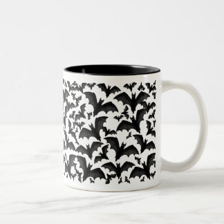 Bunch of Vampire Bats Halloween Mug