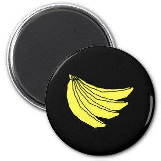 Bunch of Yellow Bananas. Magnet