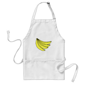Bunch of Yellow Bananas. Standard Apron
