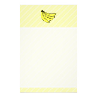 Bunch of Yellow Bananas. Stationery