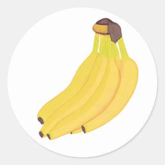 Bunch of Yellow Bananas Stickers