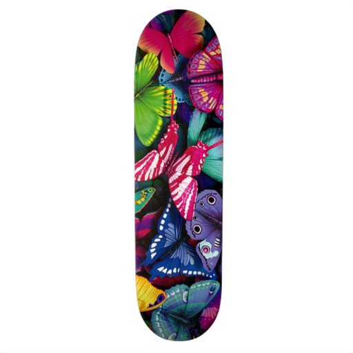 Bunches of Butterflies Skate Deck