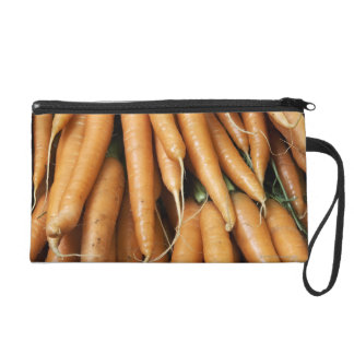 Bunches of carrots wristlet purse