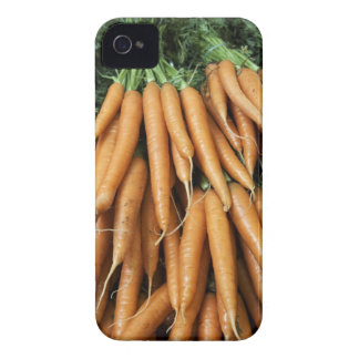 Bunches of carrots, full frame iPhone 4 cover
