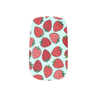 Bunches of Strawberries - Nail Art