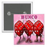 Bunco 15 Cm Square Badge