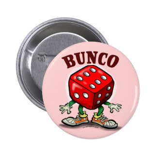 Bunco 6 Cm Round Badge
