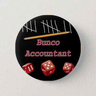 Bunco Accountant 6 Cm Round Badge
