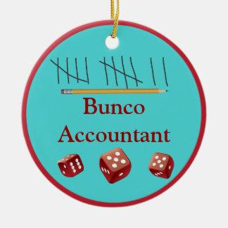 Bunco Accountant Ornament