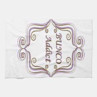 Bunco Addict Tea Towel