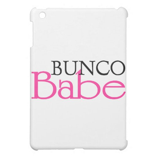 Bunco Babe iPad Mini Cases