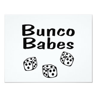 Bunco Babes Card