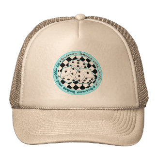Bunco Babes Roll With It - Blue Mesh Hats