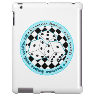 Bunco Babes Roll With It - Blue iPad Case