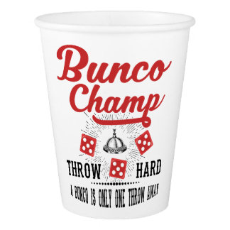 Bunco Champ Party Cup
