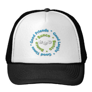 bunco good friends cap