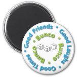 bunco good friends fridge magnet