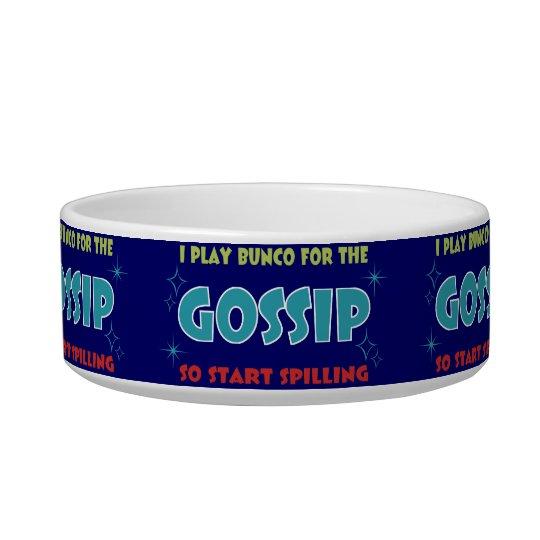 bunco gossip candy dish