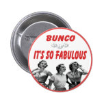bunco it's so fabulous 6 cm round badge