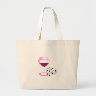 Bunco Ladies Night Jumbo Tote Bag