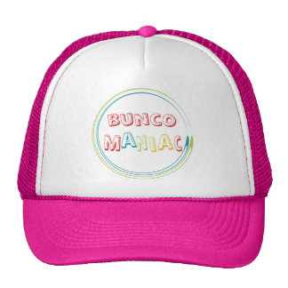 bunco maniac trucker hats