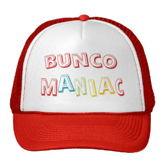 bunco maniac mesh hats