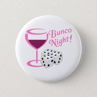 Bunco Night 6 Cm Round Badge