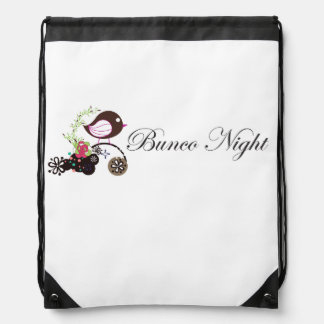 Bunco Night Bag Backpacks