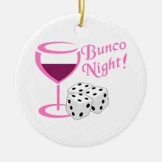 Bunco Night Christmas Ornament