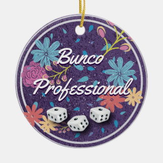 Bunco Professional Christmas Ornament