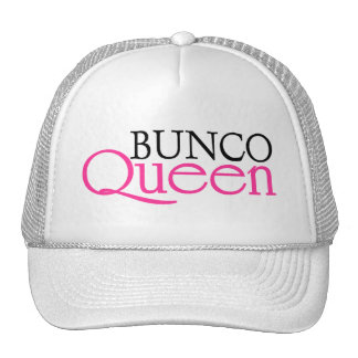 Bunco Queen Trucker Hats