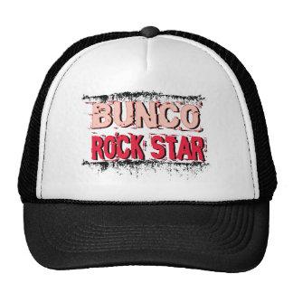 bunco rock star in pink cap