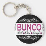 Bunco, Roll, Chat, Laugh In Pink, Black and White