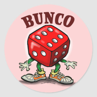 Bunco Round Sticker