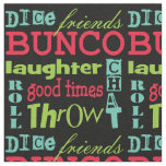 Bunco Subway Art Novelty Fabric