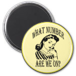 Bunco What Number Are We On #2 6 Cm Round Magnet