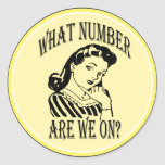 Bunco What Number Are We On #2 Stickers