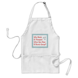 bunco who needs a therapist standard apron